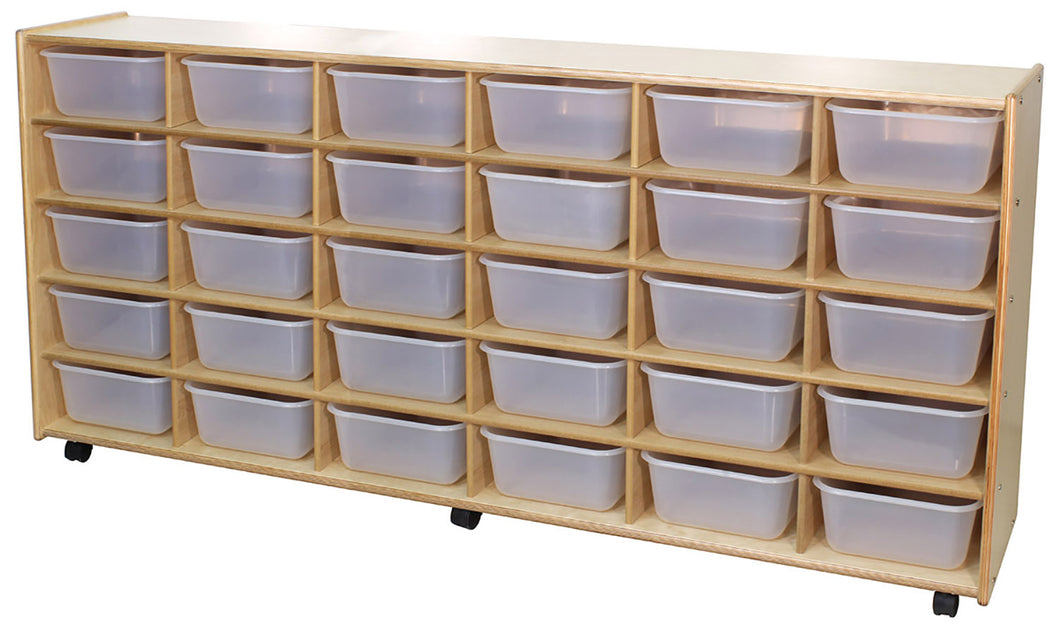 30 Cubby Storage Units - 4 Versions