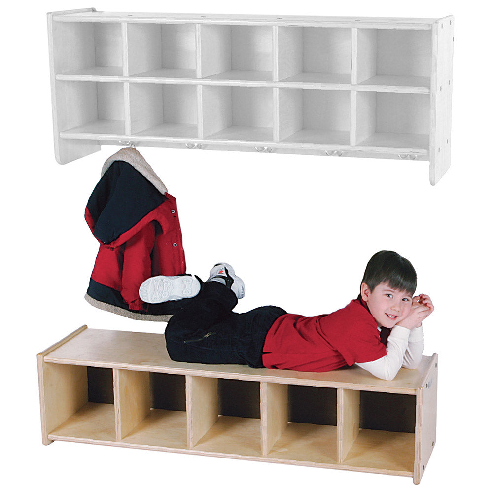 Shoe Storage & Bench (S393)