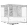 Swivel Silverware Caddy Marble