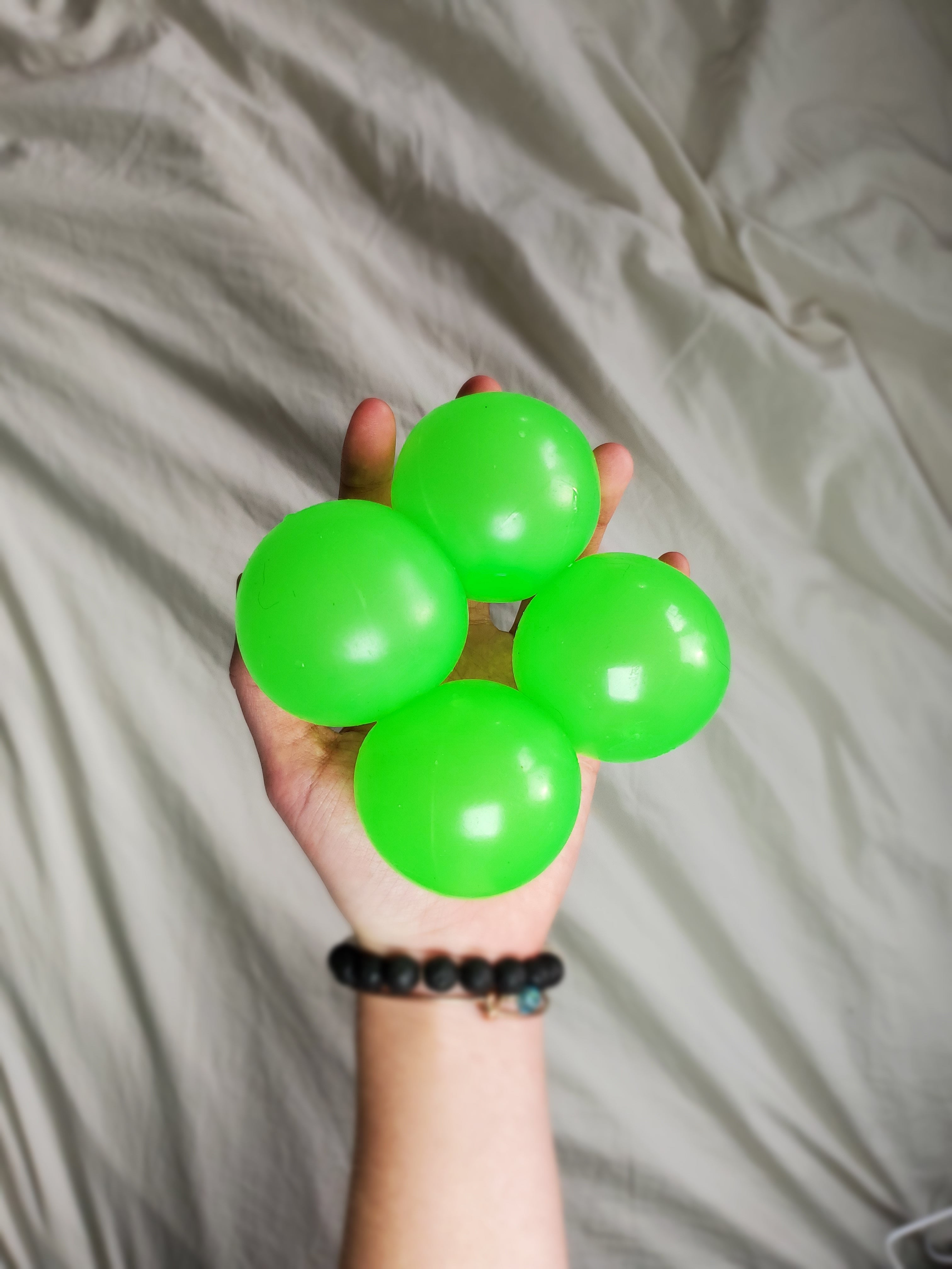 Glamballs Glow In The Dark Ceiling Balls 4pc Glamballs
