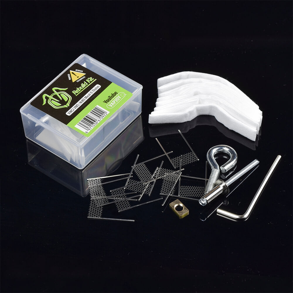 VAPJOY DIY Rebuild Kit for VINCI PnP VM5 NI80 mesh 0.19ohm