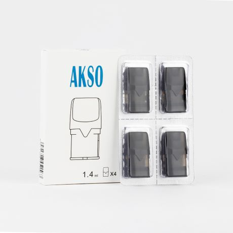 Hcigar Akso OS 1.4ml Pod Cartridge (4pc/pack)