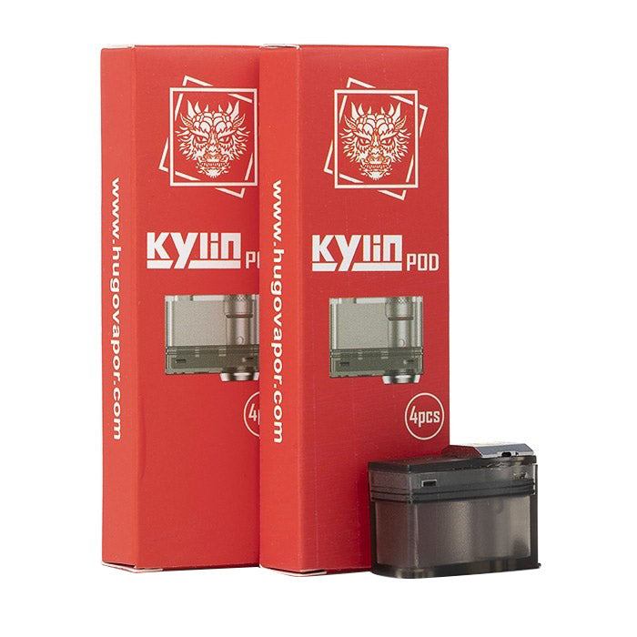 4Pcs/Pack HUGO Vapor Kylin Replacement Pods