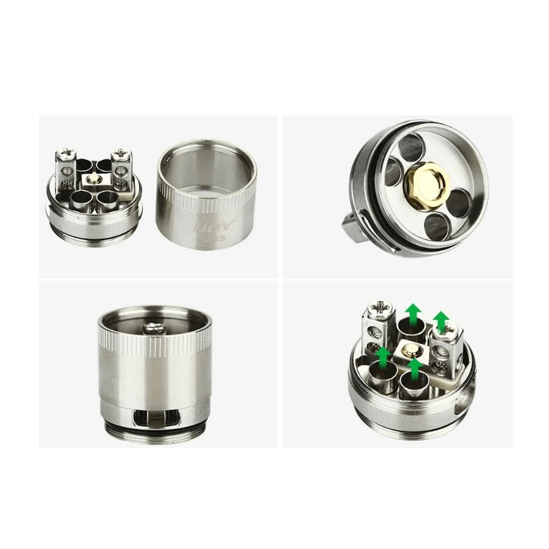 IJOY EXO XL-2S Dual Coil RTA Deck - 3avape