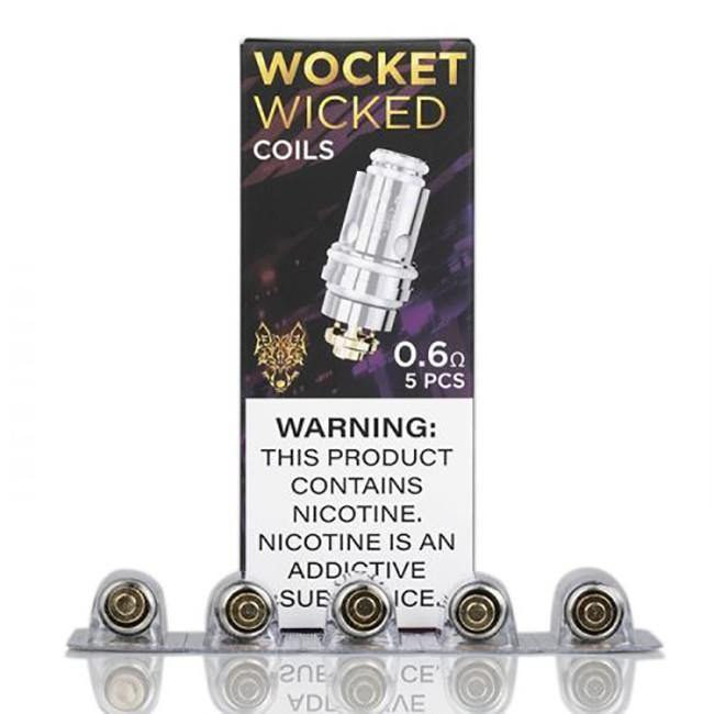 Sigelei Snowwolf Wicked(Afeng) Mesh Coil 5pc - 3avape