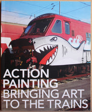 Lade das Bild in den Galerie-Viewer, Action Painting - Bringing Art to the Trains