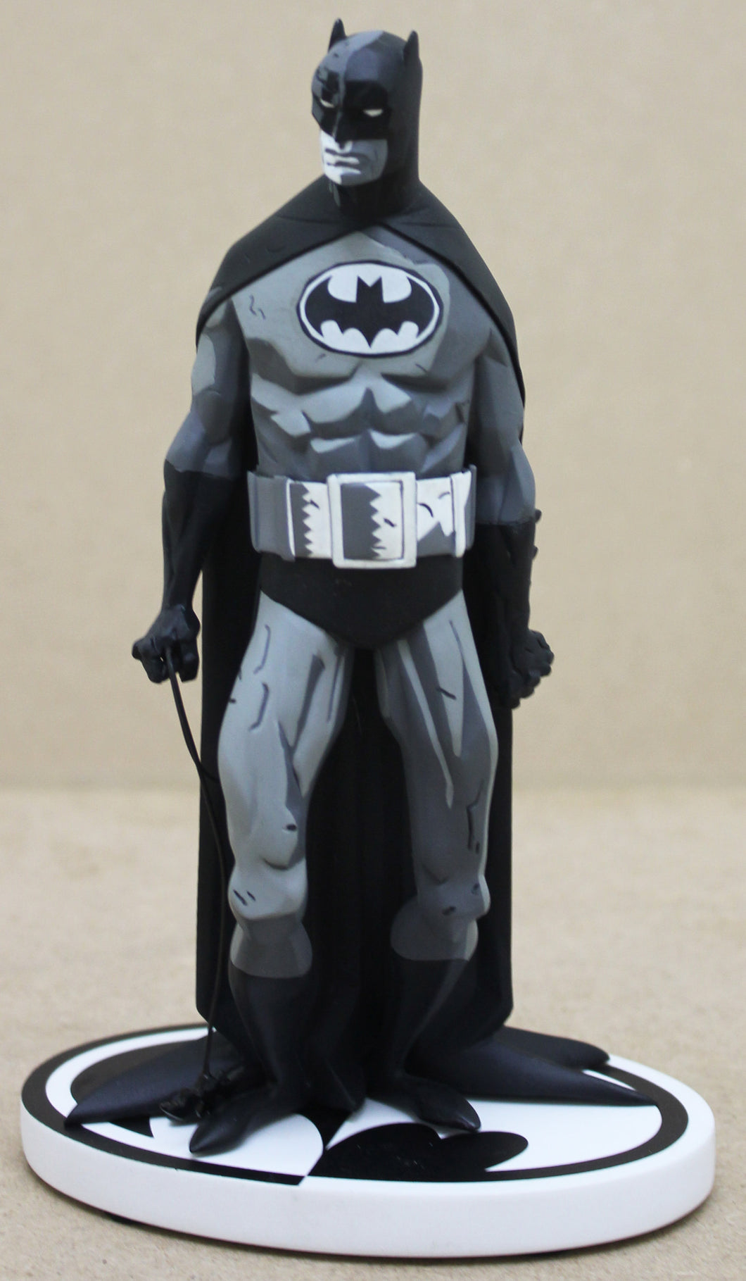Batman Statue Black and White by Mike Mignola