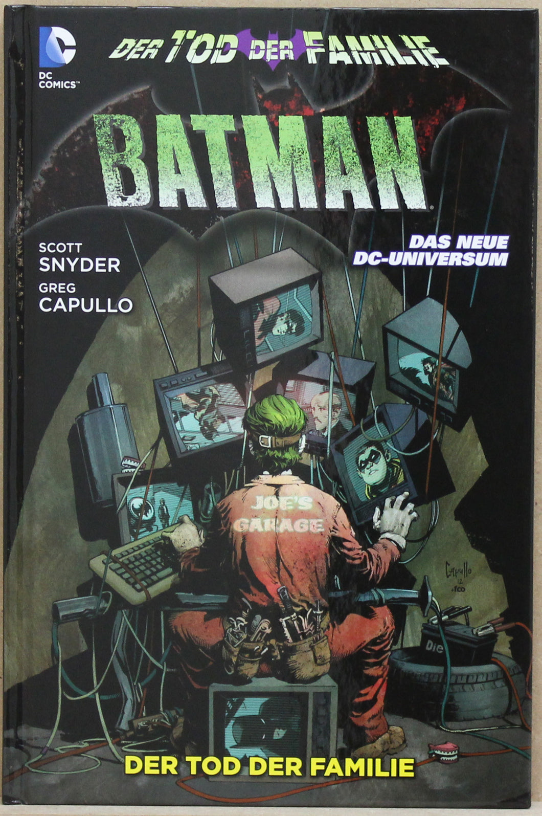 Batman New DC HC 3