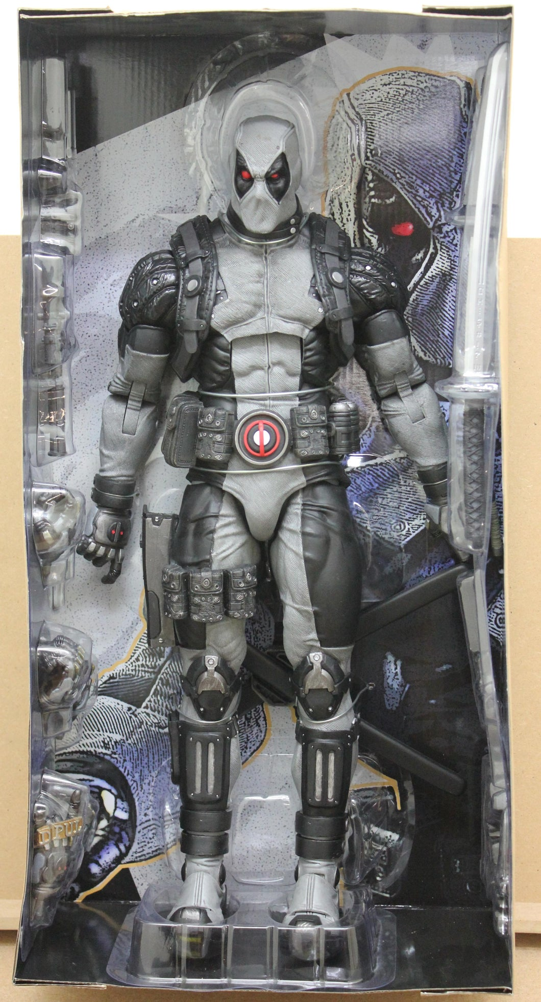 Deadpool X-Force Version 1/4 Scale Action Figure