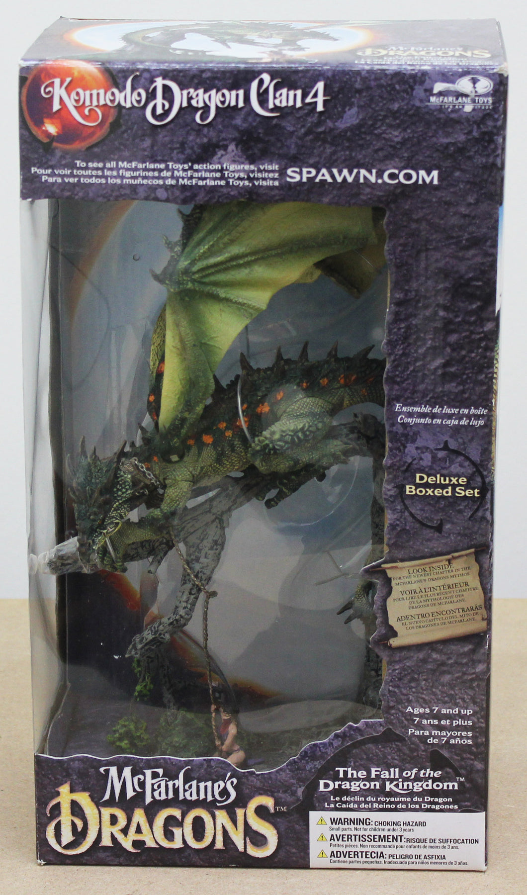McFarlane's Dragons - Komodo Dragon Clan 4