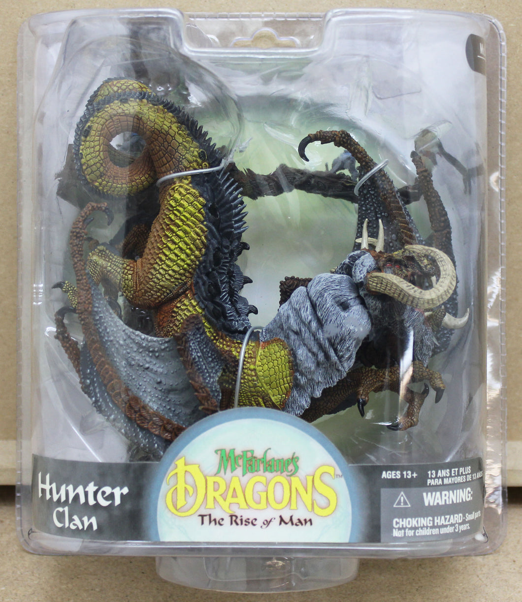 McFarlane's Dragons - Hunter Clan Dragon 2