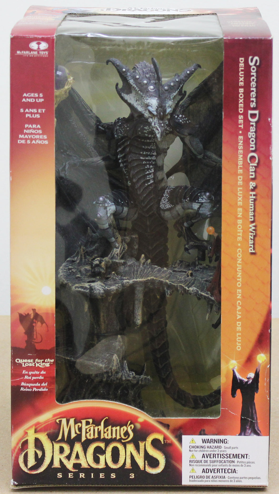 McFarlane's Dragons - Sorcerers Dragon Clan & Human Wizard