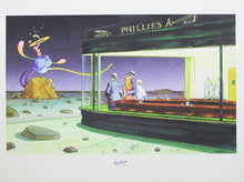 Lade das Bild in den Galerie-Viewer, Moebius Digigraphie Nighthawks