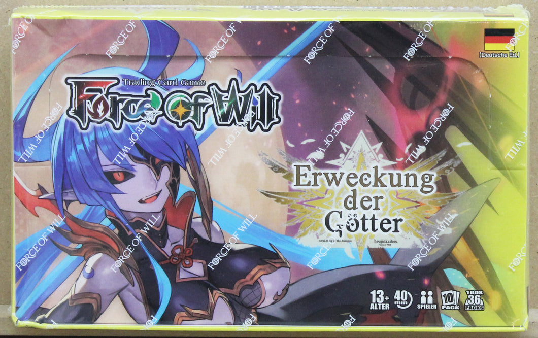 Force of Will Erweckung der Götter Display (+Promos)