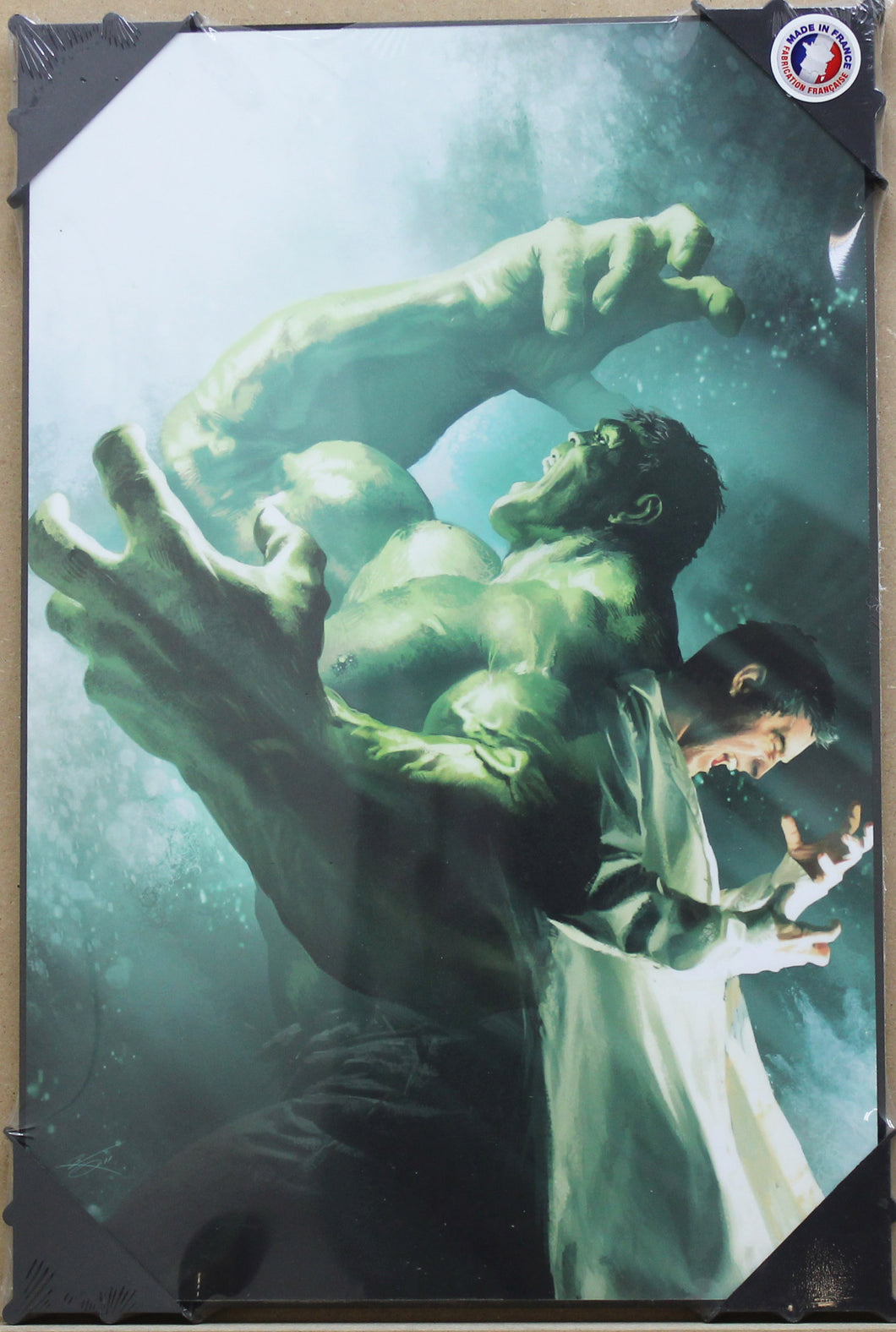 Marvel Holzdruck: Incredible Hulk S