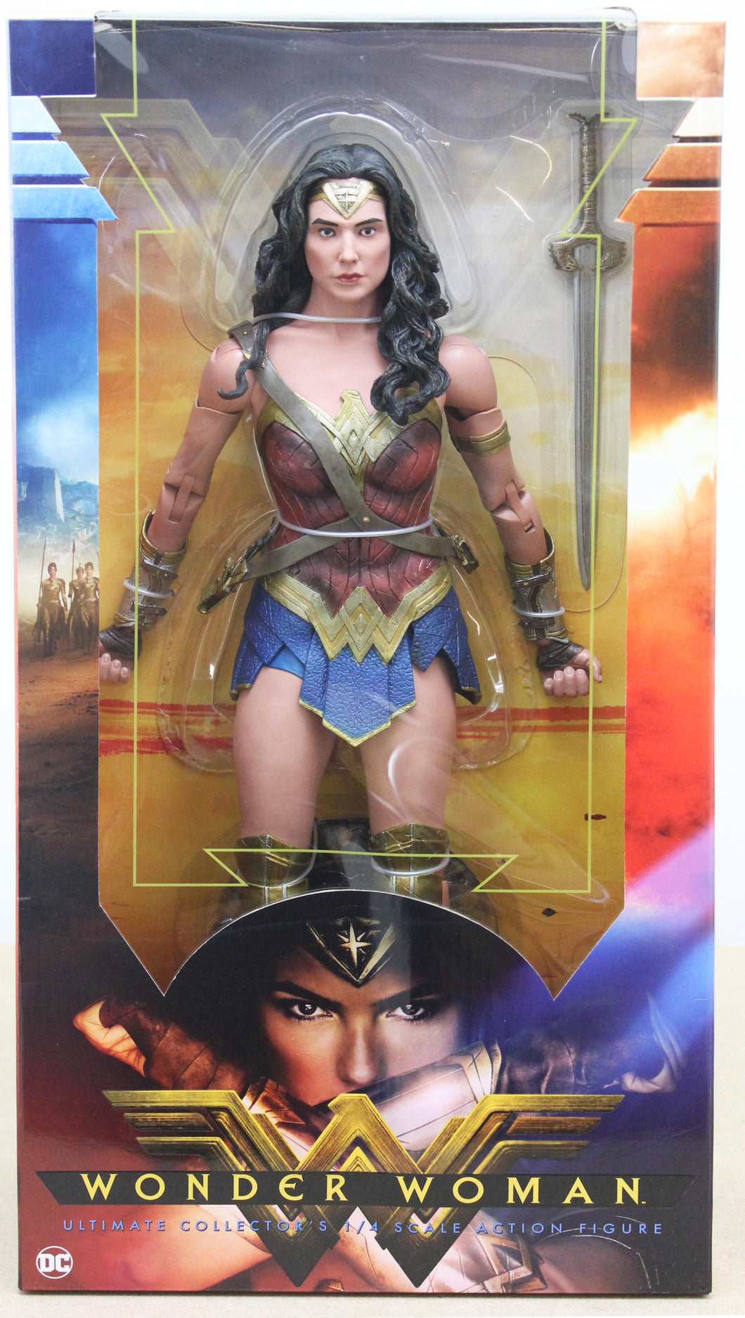 Wonder Woman Ultimate Collector's 1/4 Scale Action Figure