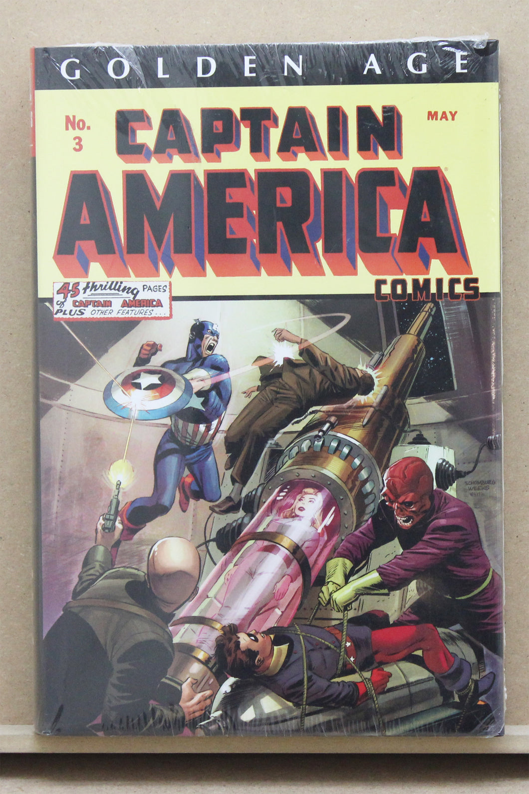 Golden Age Captain America 1