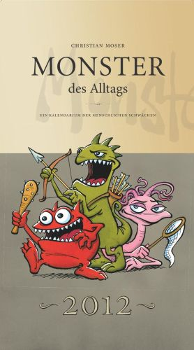 Monster des Alltags Kalender 2012