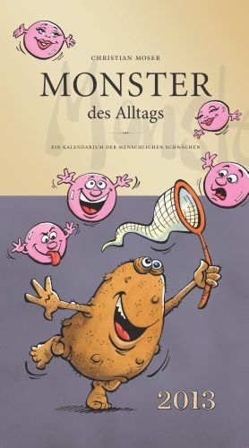 Monster des Alltags Kalender 2013