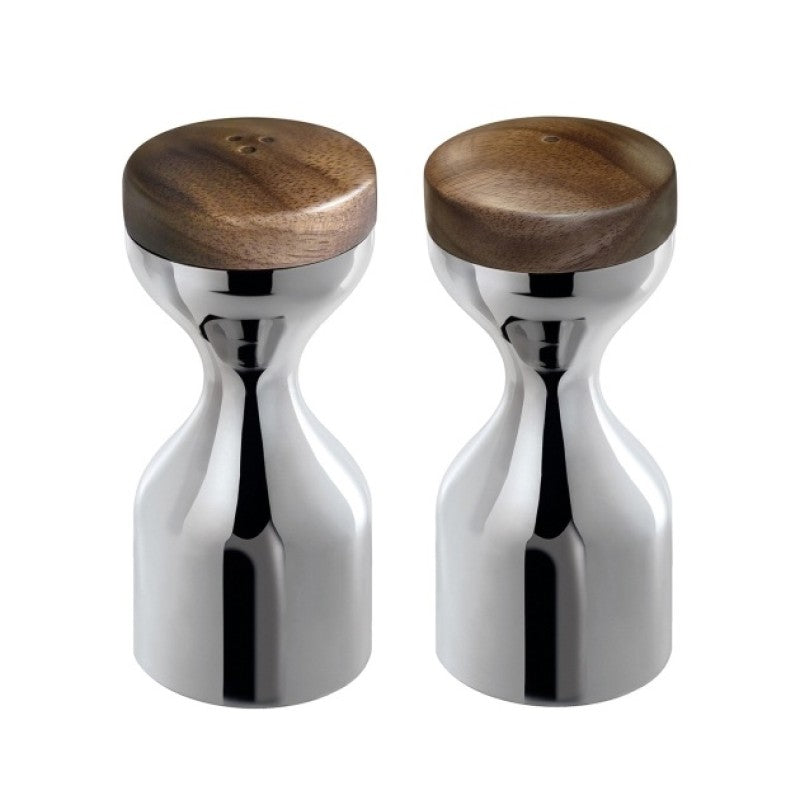 Robert Welch Limbrey salt & pepper mill set (bright)