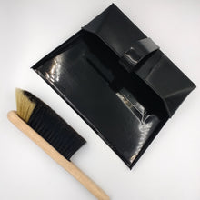 Load image into Gallery viewer, Black painted steel dustpan