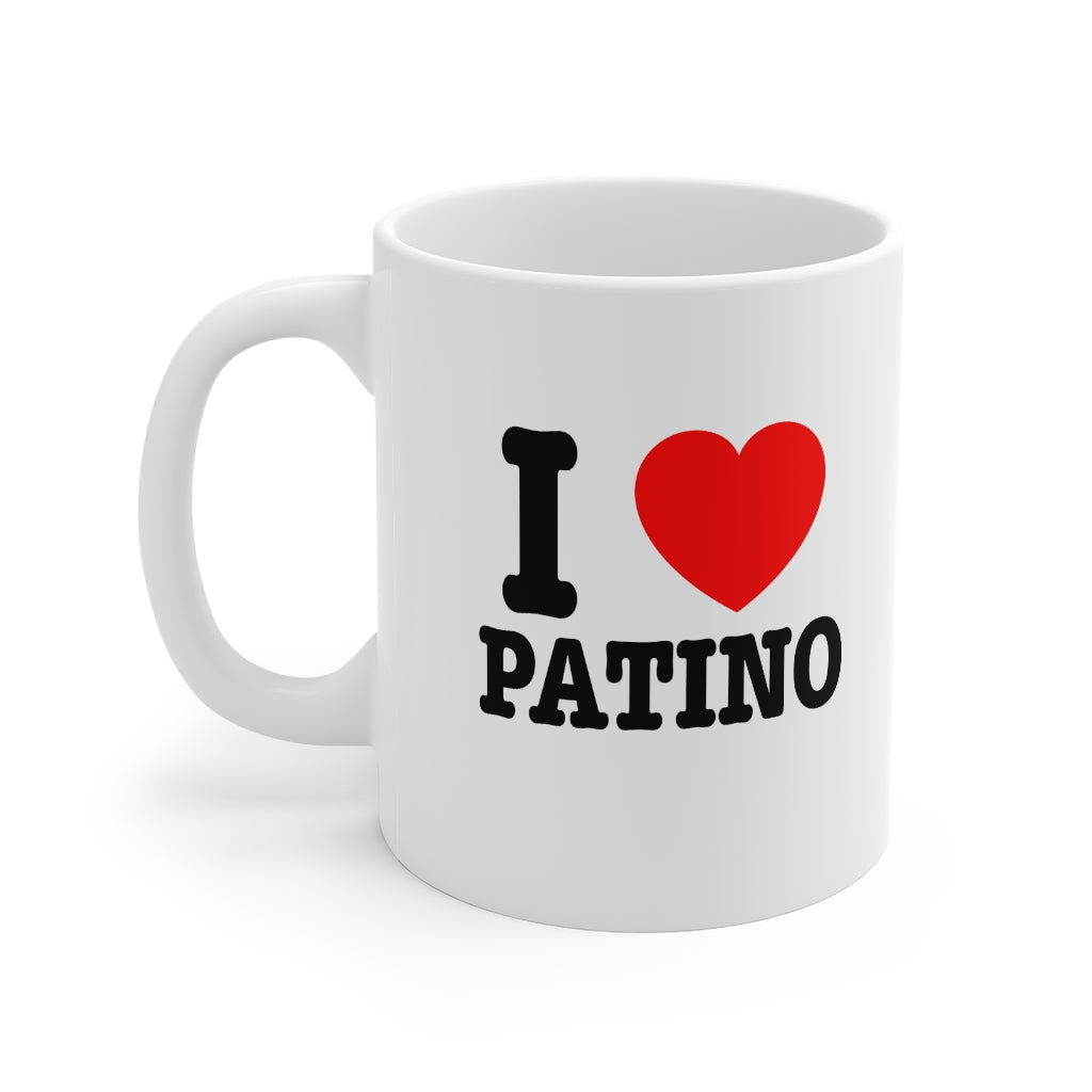 I Heart Patino 11oz Coffee Mug