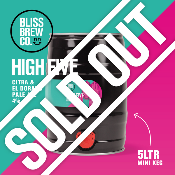 High Five - Pale Ale - 5ltr Mini Keg - ABV 4%