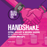 Handshake - Session IPA - 5ltr Mini Keg - ABV 4.8%