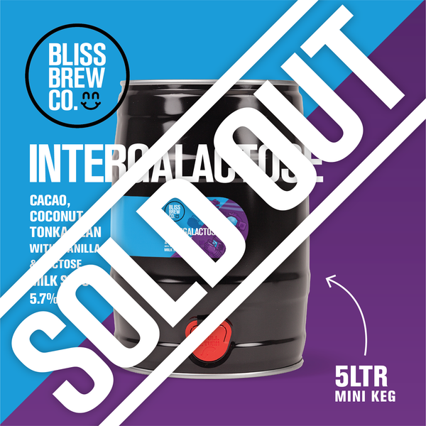Intergalactose - Milk Stout - 5ltr Mini Keg - ABV 5.7%