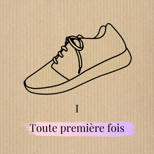 KIT SNEAKERS - Very first time
