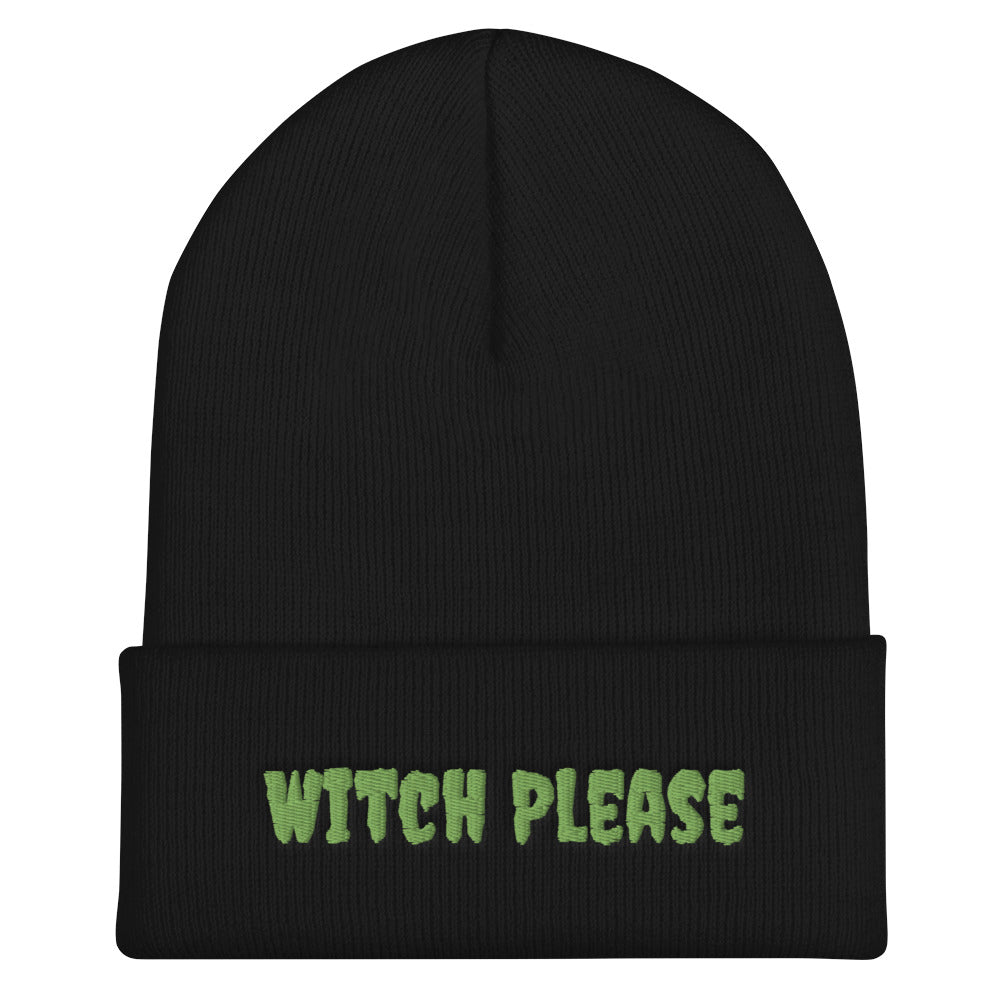 Witch Please Embroidered Beanie *new*