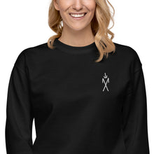Load image into Gallery viewer, Sigil Embroidered Crewneck - Black