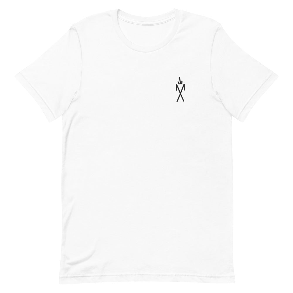Sigil Embroidered Tee - White