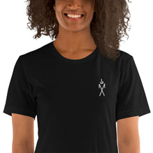 Load image into Gallery viewer, Sigil Embroidered Tee - Black