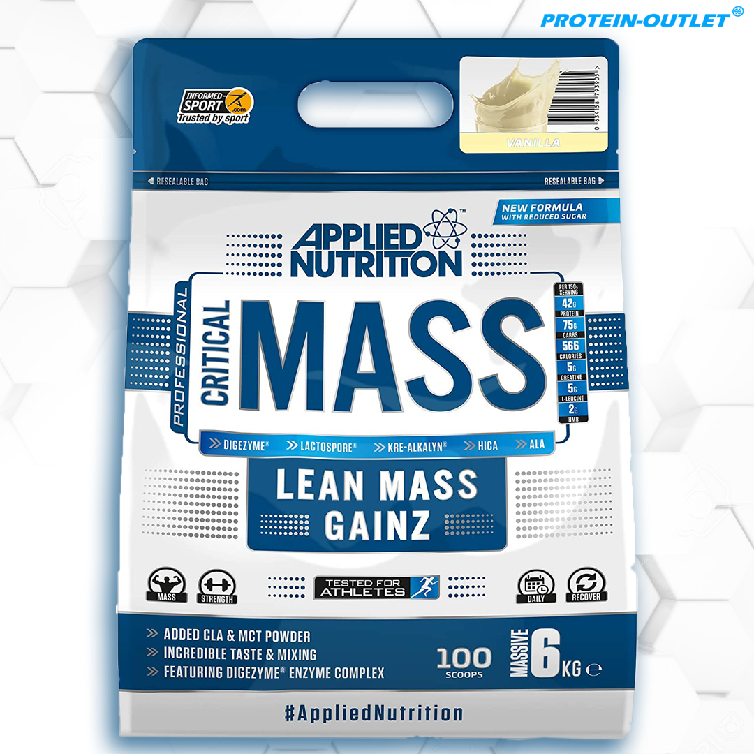 Applied Nutrition Critical Mass Gainer ( 6kg )