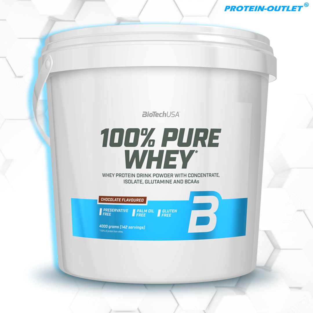 BioTech USA 100% Pure Whey (4000g)