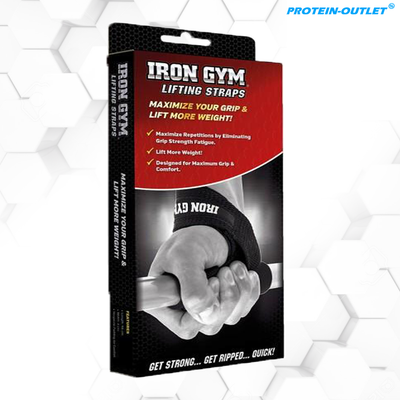 Iron Gym Lifting Straps mit Comfort Pad (1 Paar)