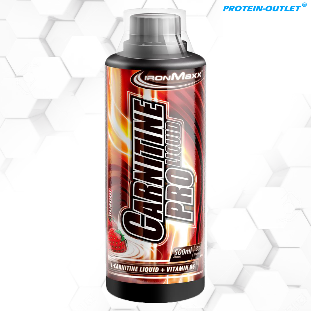 IronMaxx Carnitin Pro Liquid, 500 ml Flasche