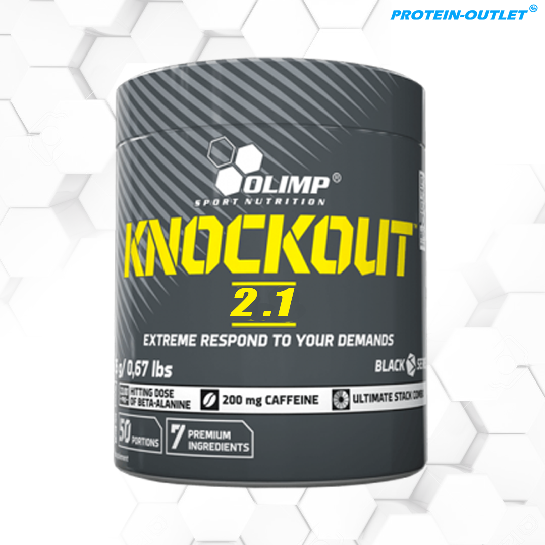OLIMP KNOCKOUT 2.1 PRE-WORKOUT (300G 50SERVINGS)