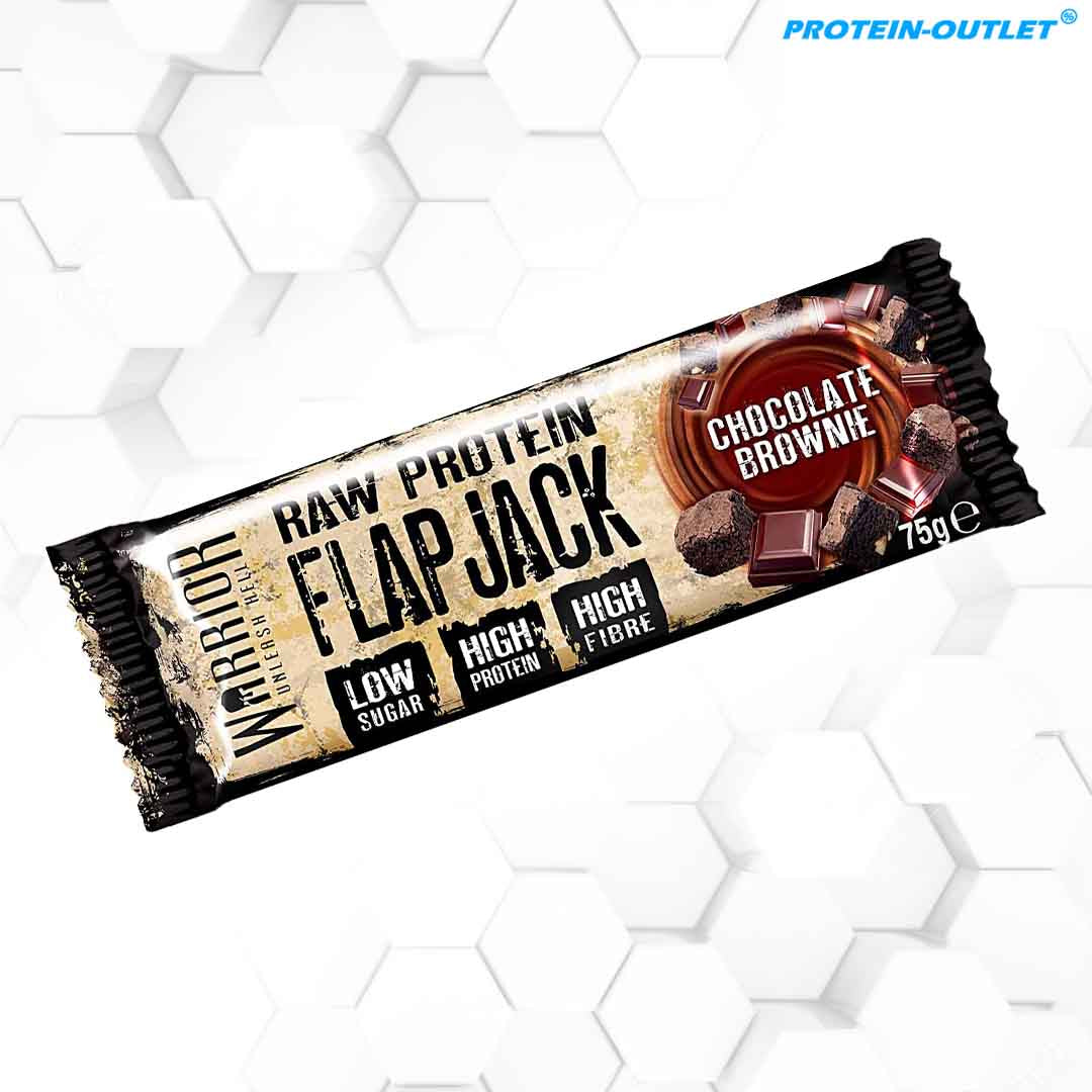 Warrior Raw Protein Flap Jack (75g)