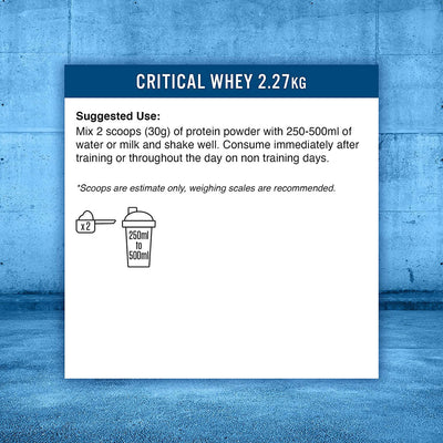 Applied Nutrition Critical Whey (2.27KG)