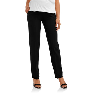 Maternity Straight Leg Career Pants - Black