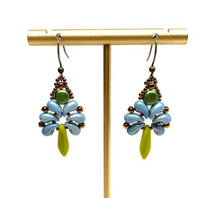 Load image into Gallery viewer, Savannah Earring | Blue & Green