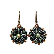 Load image into Gallery viewer, Czech Flower Earrings | Assorted Colors