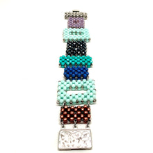 Load image into Gallery viewer, Beaded Link Bracelet | Mixed Colors