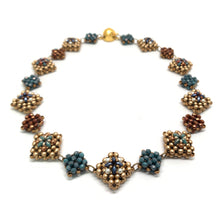 Load image into Gallery viewer, Renaissance Collar | Gold & Blue