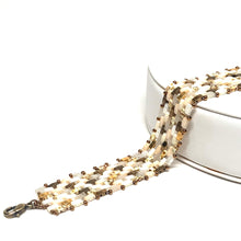 Load image into Gallery viewer, Alisa Bracelet | Mixed Cream and Gold