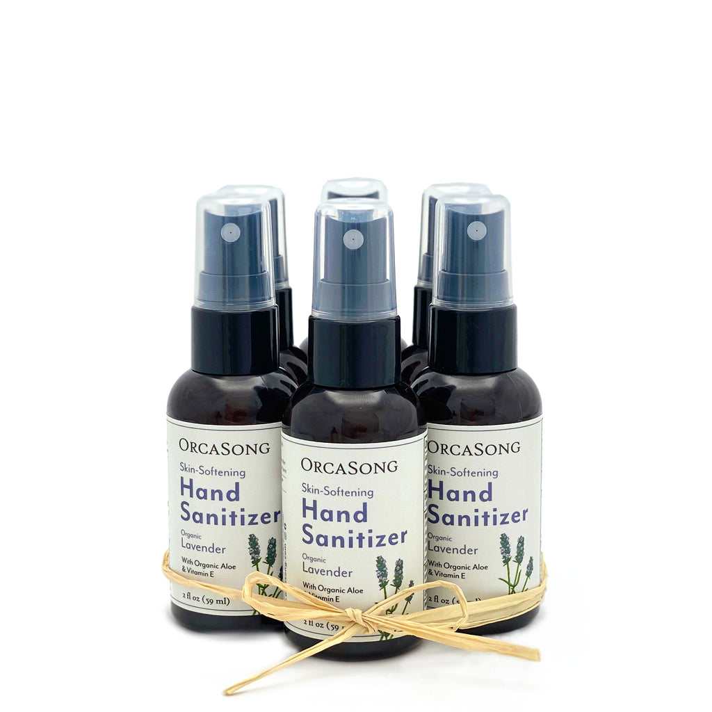 Lavender Hand Sanitizer Spray Travel-Size Gift Bundle