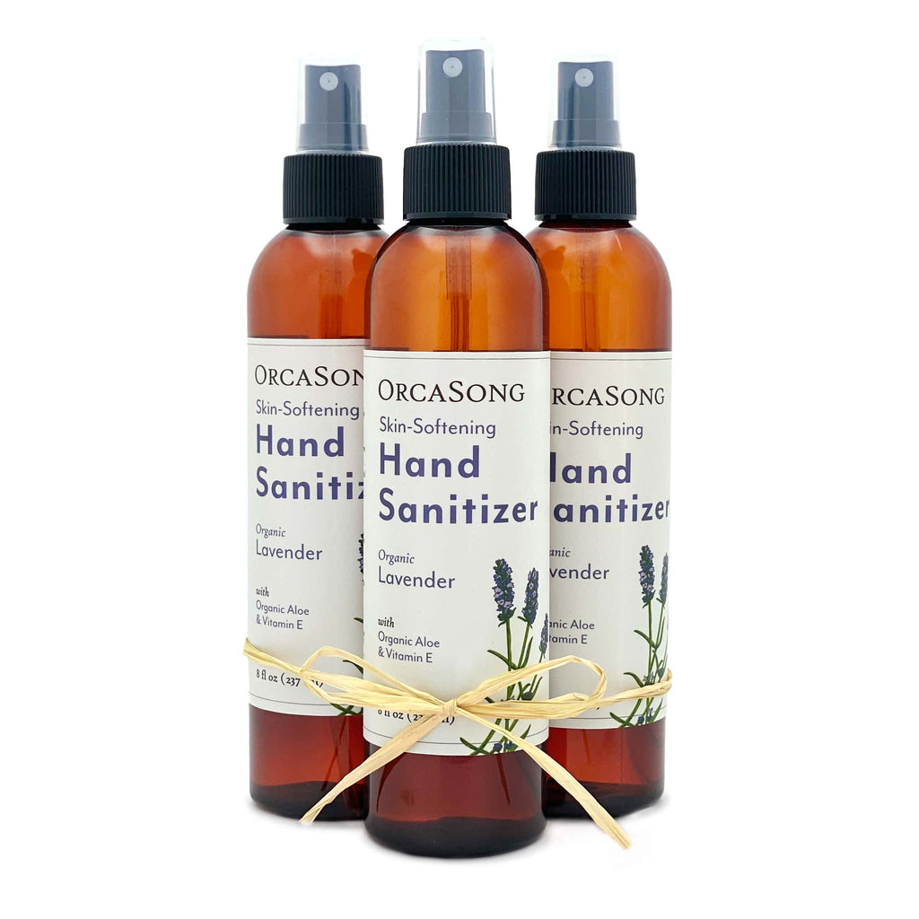 Lavender Hand Sanitizer Spray Gift Bundle