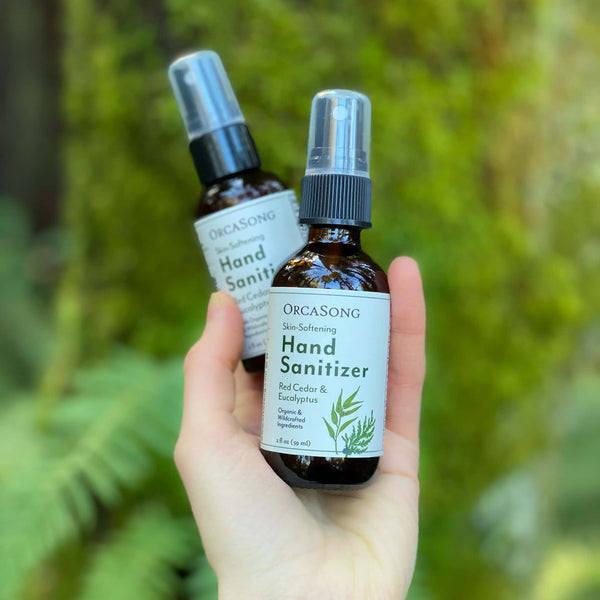 Red Cedar and Eucalyptus Hand Sanitizer Spray Travel-Size